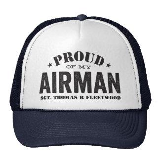 Fier de mon aviateur casquette trucker