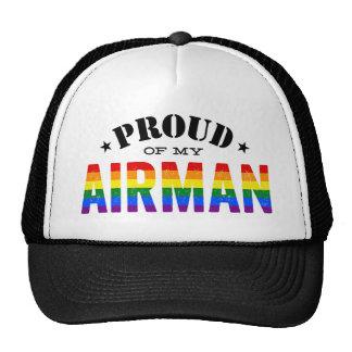 Fier de mon aviateur gai casquette de camionneur
