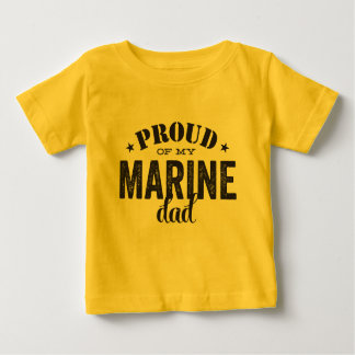 Fier de mon papa MARIN T-shirt Pour Bébé