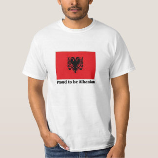 Fier d'être albanais t-shirt