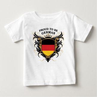 Fier d'être allemand t-shirt pour bébé