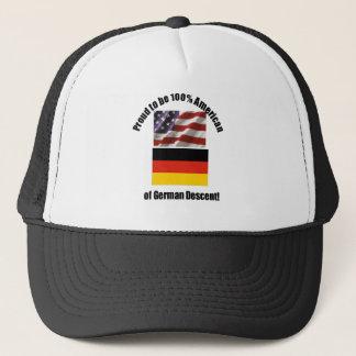 Fier d'être Américain de 100 % de casquette desent