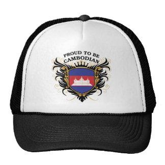 Fier d'être cambodgien casquette trucker