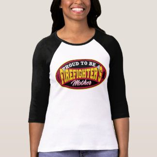 Fier d'être la mère d'un sapeur-pompier t-shirt