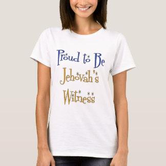 Fier d'être le témoin de Jéhovah T-shirt