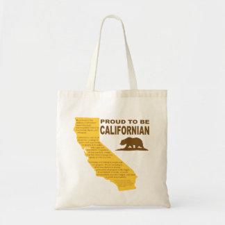 Fier d'être LT californien de sac fourre-tout