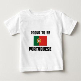 Fier d'être PORTUGAIS T-shirt Pour Bébé