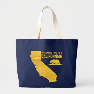 Fier d'être sac fourre-tout californien DK