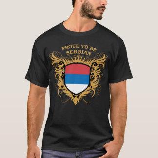 Fier d'être serbe t-shirt