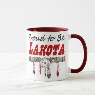 Fier d'être tasse de café de Lakota