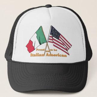 Fier d'être un Américain italien Casquette
