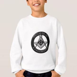 Fier d'être un franc-maçon sweatshirt