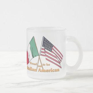 Fier d'être un Italien-Américain Tasse Givré