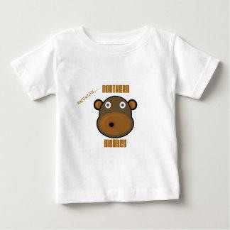 Fier d'être un petit singe du nord t-shirt pour bébé