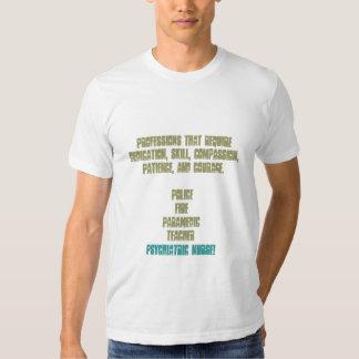 Fier d'être une infirmière ! - Psychiatrie T-shirts