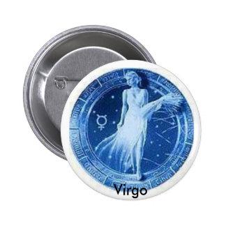 Fier d'être Vierge ! Badge Rond 5 Cm
