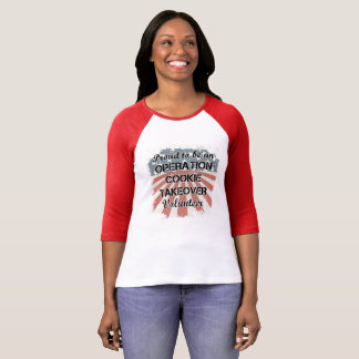 Fier raglan d'être une pièce en t volontaire t-shirt