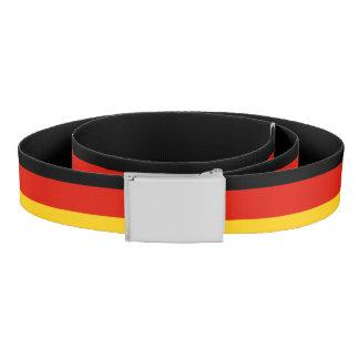 Fierté allemande de la ceinture de toile de