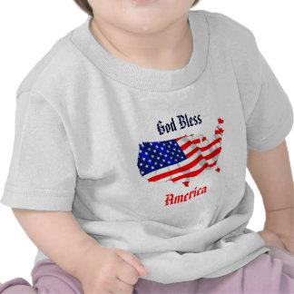 Fierté américaine t-shirt