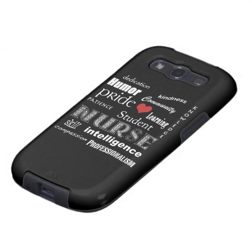 Fierté-Attributs /Black d'élève-infirmière Coque Samsung Galaxy S3