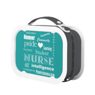 Fierté-Attributs d'élève-infirmière/turquoise