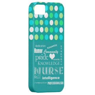 Fierté-Attributs d'infirmière/bleu de turquoise/à  Coque Case-Mate iPhone 5