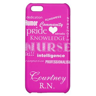 Fierté-Attributs d'infirmière/rose vibrant+Personn