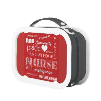 Fierté-Attributs d'infirmière/rouge
