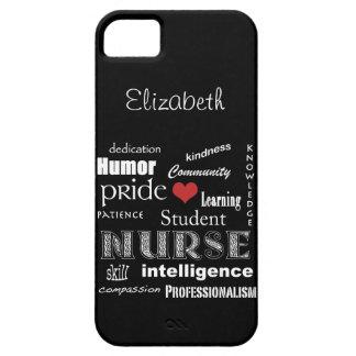 Fierté-Attributs /Ebony d'élève-infirmière Coque Barely There iPhone 5