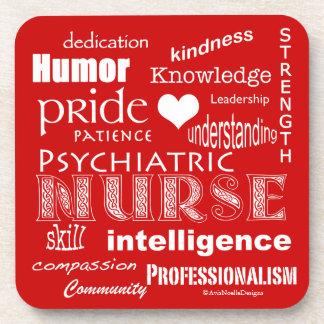 Fierté-Attributs psychiatriques d'infirmière/vrai  Sous-bocks