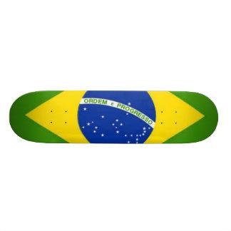 Fierté brésilienne plateau de planche à roulettes