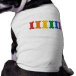 Fierté d'animal familier manteau pour chien