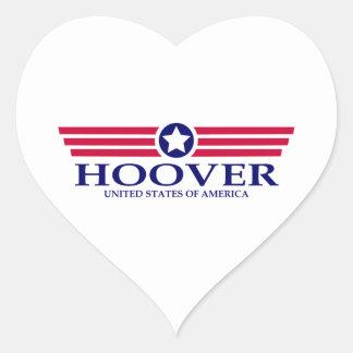 Fierté de Hoover Sticker Cœur