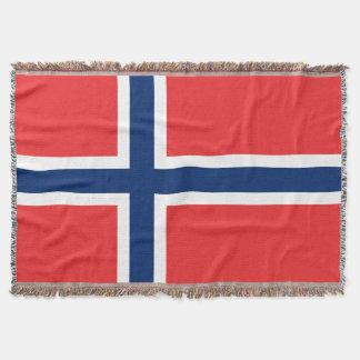 Fierté de la couverture | Norvège de jet tissée