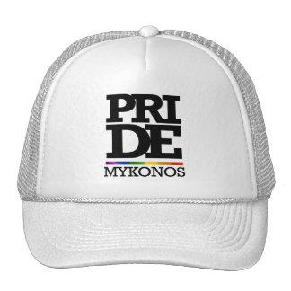 FIERTÉ DE MYKONOS - .PNG CASQUETTES DE CAMIONNEUR