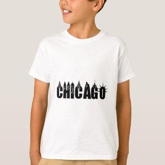 Fierté de ville de gratte-ciel d'horizon de t-shirt