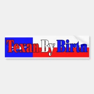 Fierté du Texas Autocollant De Voiture