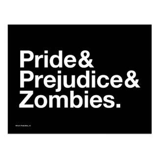 Fierté et Predjudice et zombis Carte Postale