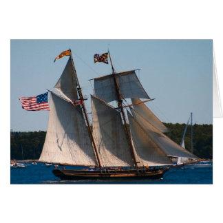 Fierté grande de bateau de Baltimore Carte De Vœux