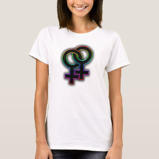 Fierté lesbienne t-shirt