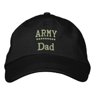 Fierté militaire de famille de papa d'armée casquette brodée