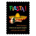 Fiesta de Cinco De Mayo Carton D'invitation 12,7 Cm X 17,78 Cm