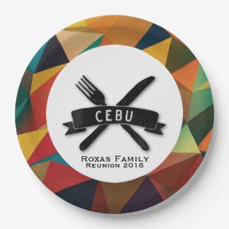 Fiesta personnalisable à Cebu Assiettes En Papier
