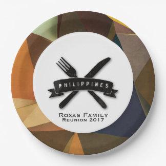 Fiesta personnalisable à Philippines Assiettes En Papier
