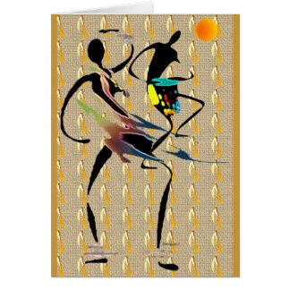 Fièvre de jungle africaine cartes de vœux