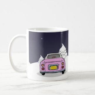 Figmas heureux - tasse rose de Nissan Figaro