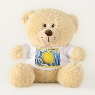 Figue de Barbarie dans l'ours de nounours jaune