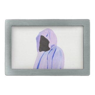 Figure masquée boucle de ceinture rectangulaire
