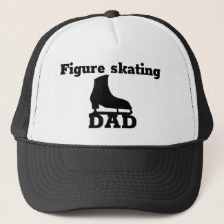 Figure skating Dad cap - B&W skate