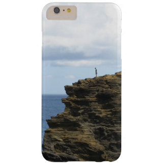 Figure solitaire sur une falaise coque iPhone 6 plus barely there